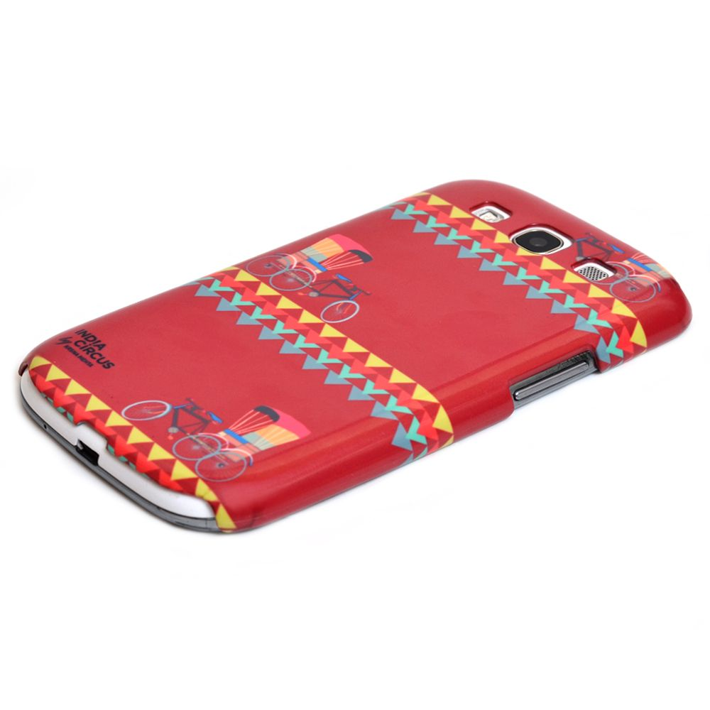Jalebi Cycle Ride Samsung Galaxy S3 Case