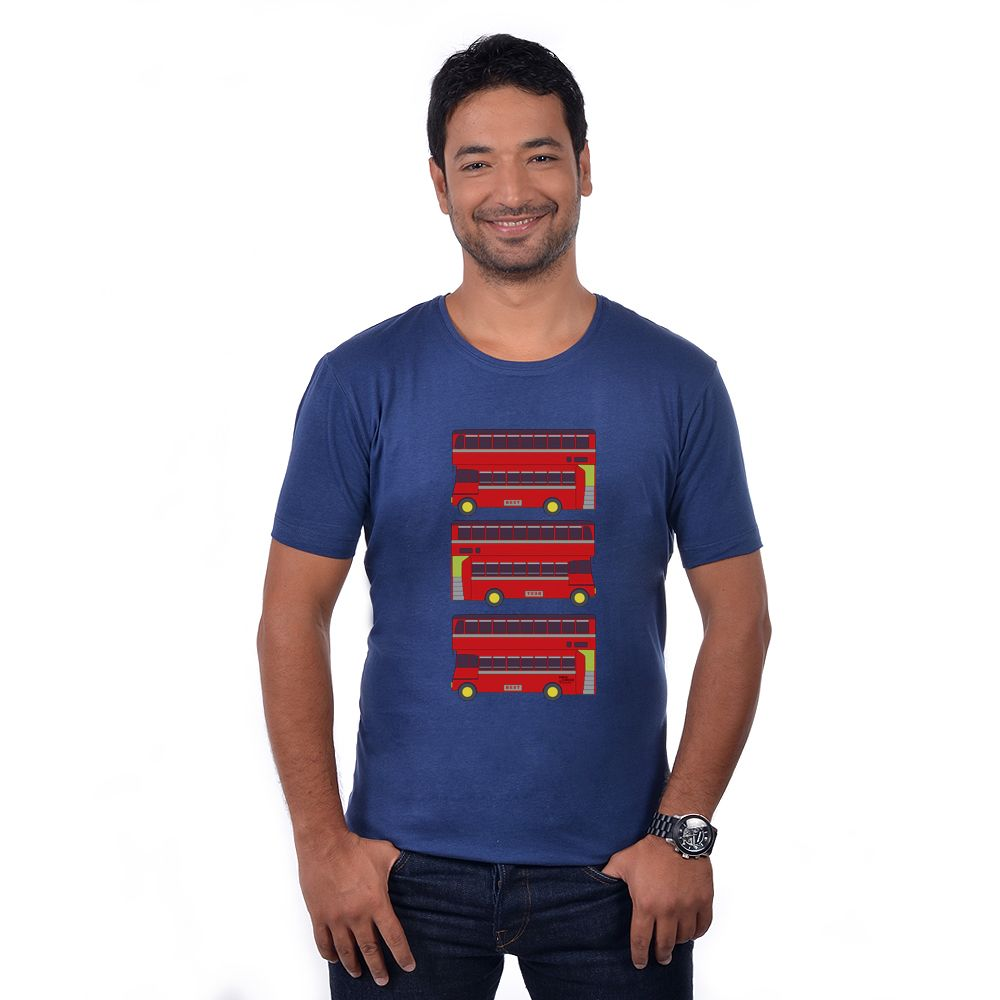 Double Decker Bus T-Shirt