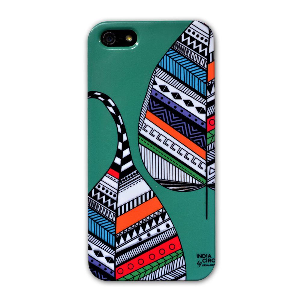Jalebi Myriad of Coloured Leaf iPhone 5 Case