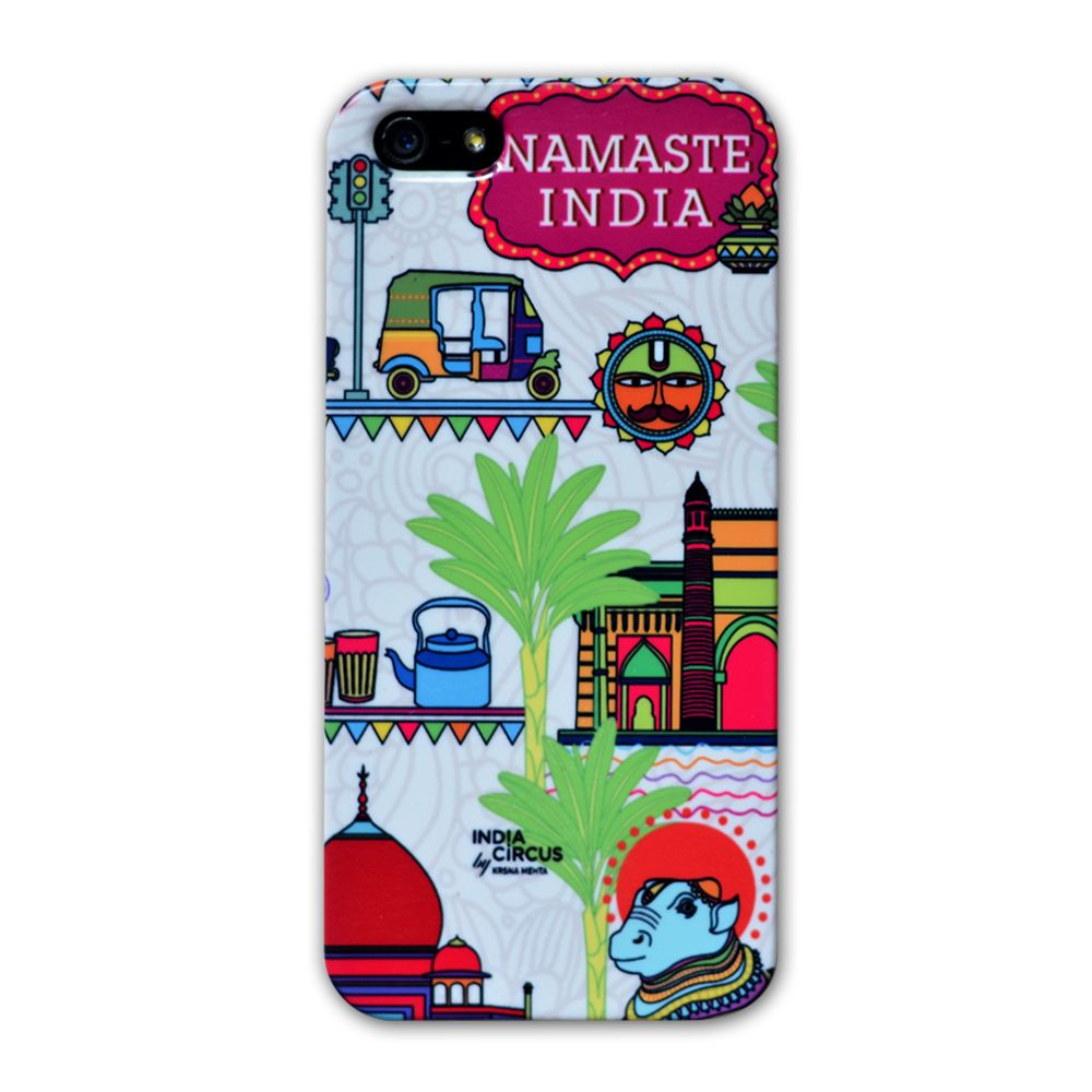 Jalebi Namaste India iPhone 5 case