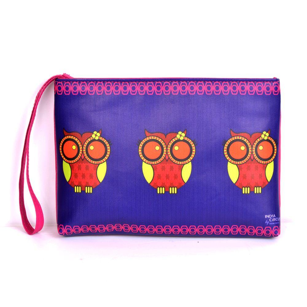 Jalebi Owl Howl Utility Pouch