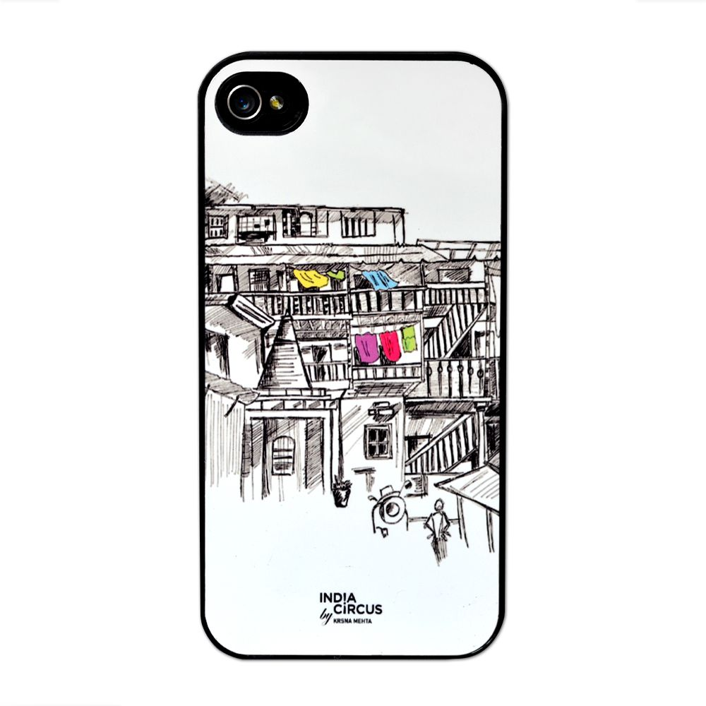 Jalebi Street Life Mobile iPhone 4/4s case