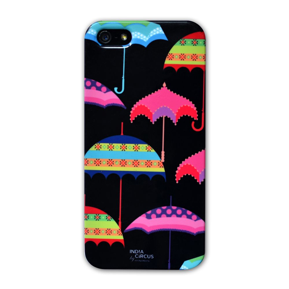 Jalebi Umbrellas iPhone 5 case