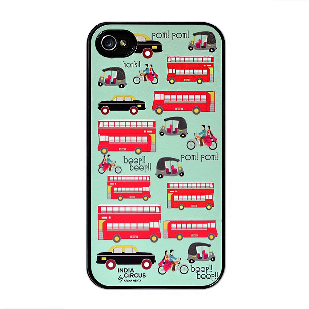 Jalebi Viva La Traffic Jam iPhone 4/4s case