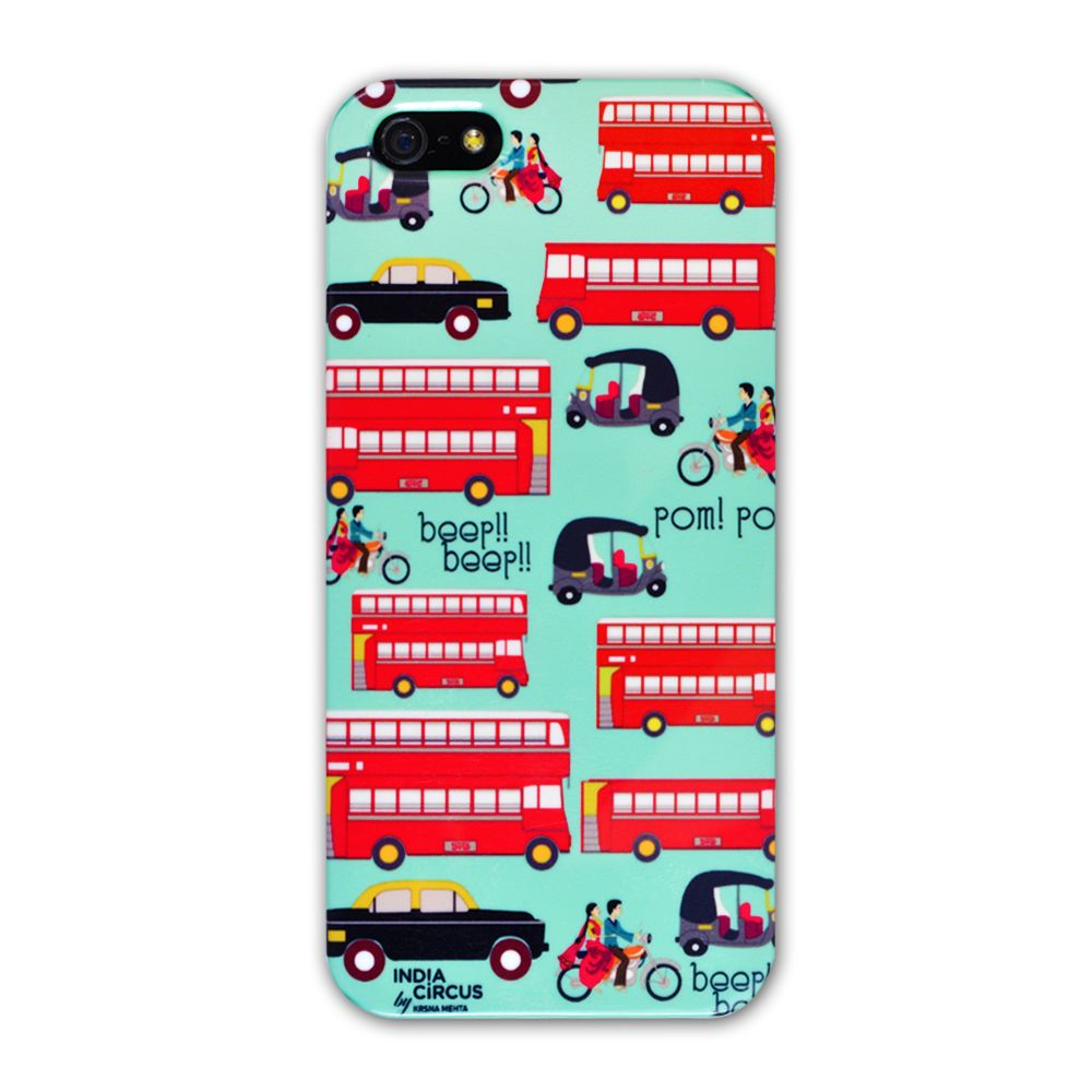Jalebi Viva La Traffic Jam iPhone 5 case