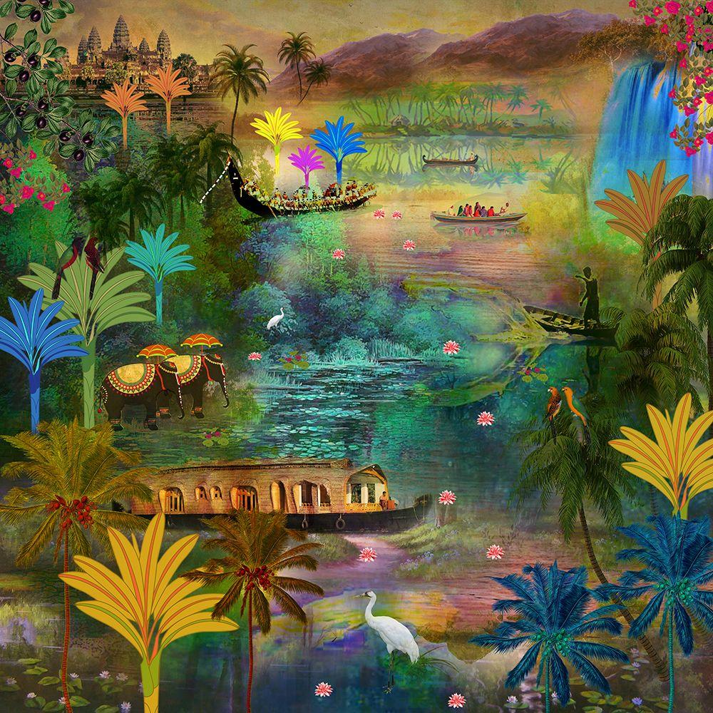 Labyrinth of Ashtamundi - Vivid Wallpaper