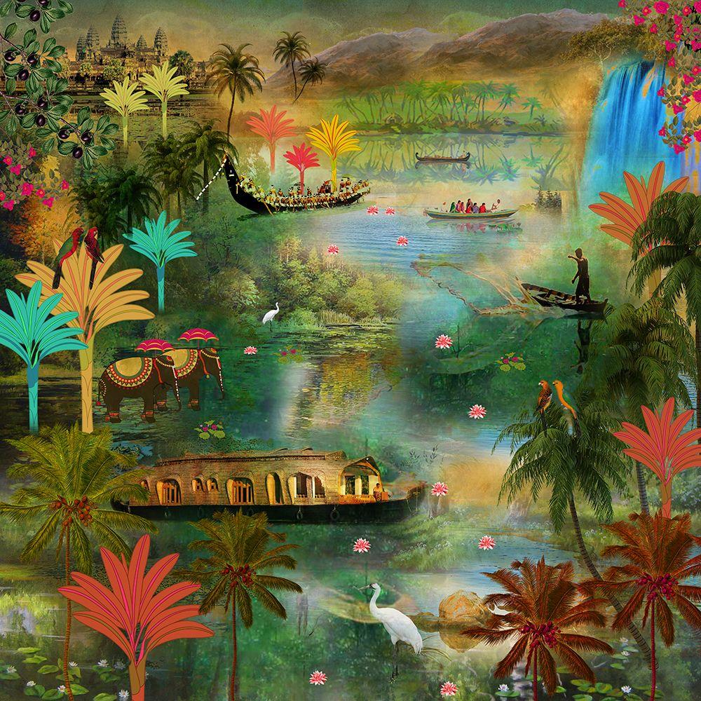 Labyrinth of Ashtamundi Wallpaper