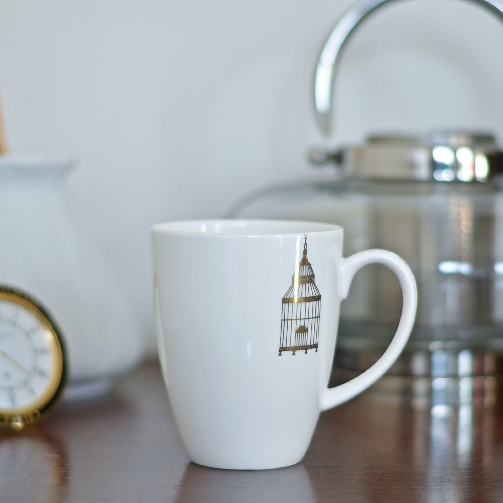 Kuheli Porcelain Cage Coffee Mug