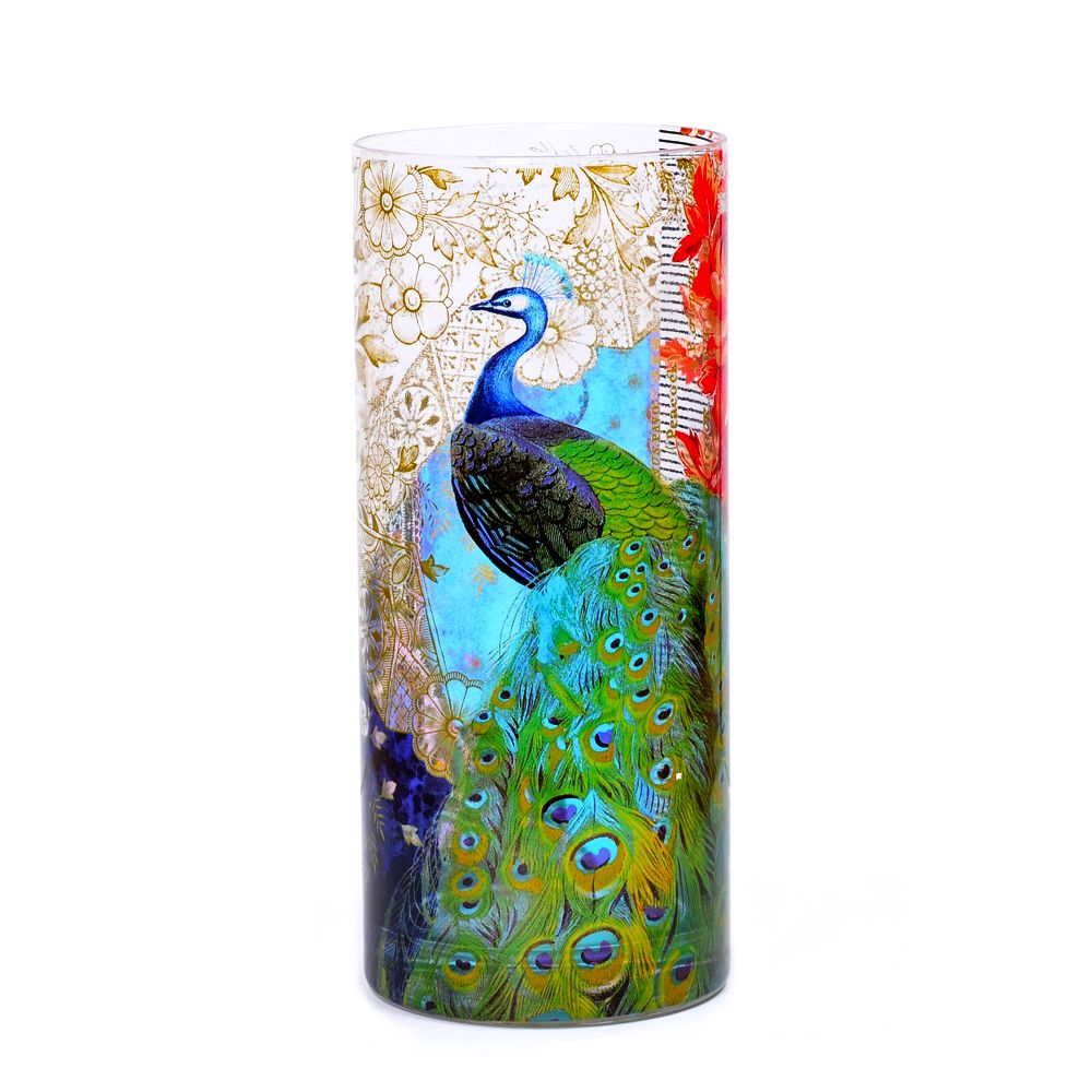 Kuheli Precious Peacock Vase
