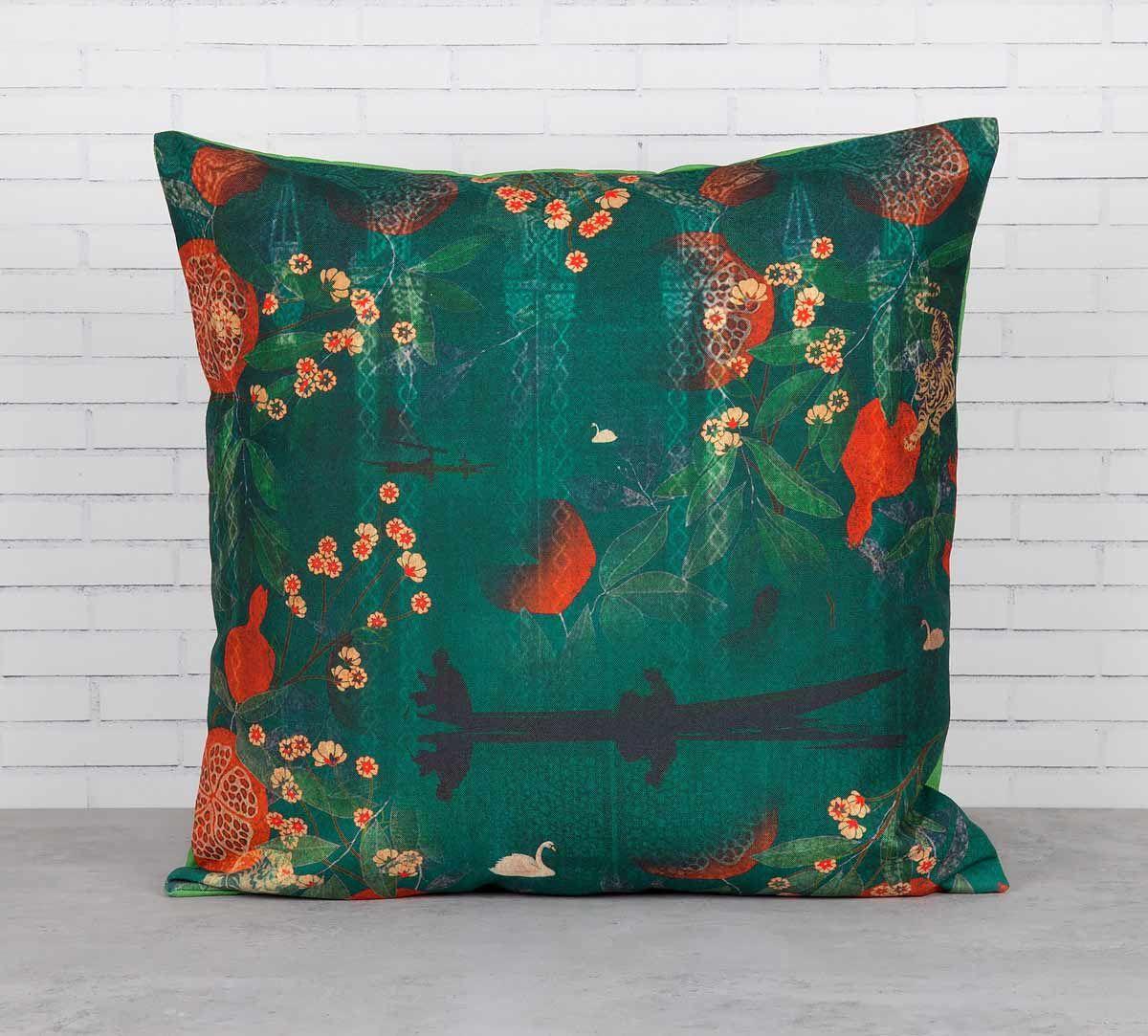 India Circus Lakeside Florist Cushion Cover
