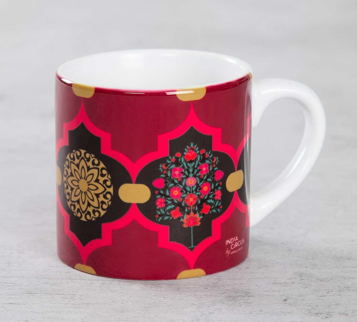 India Circus Latticed Synergy Espresso Mug