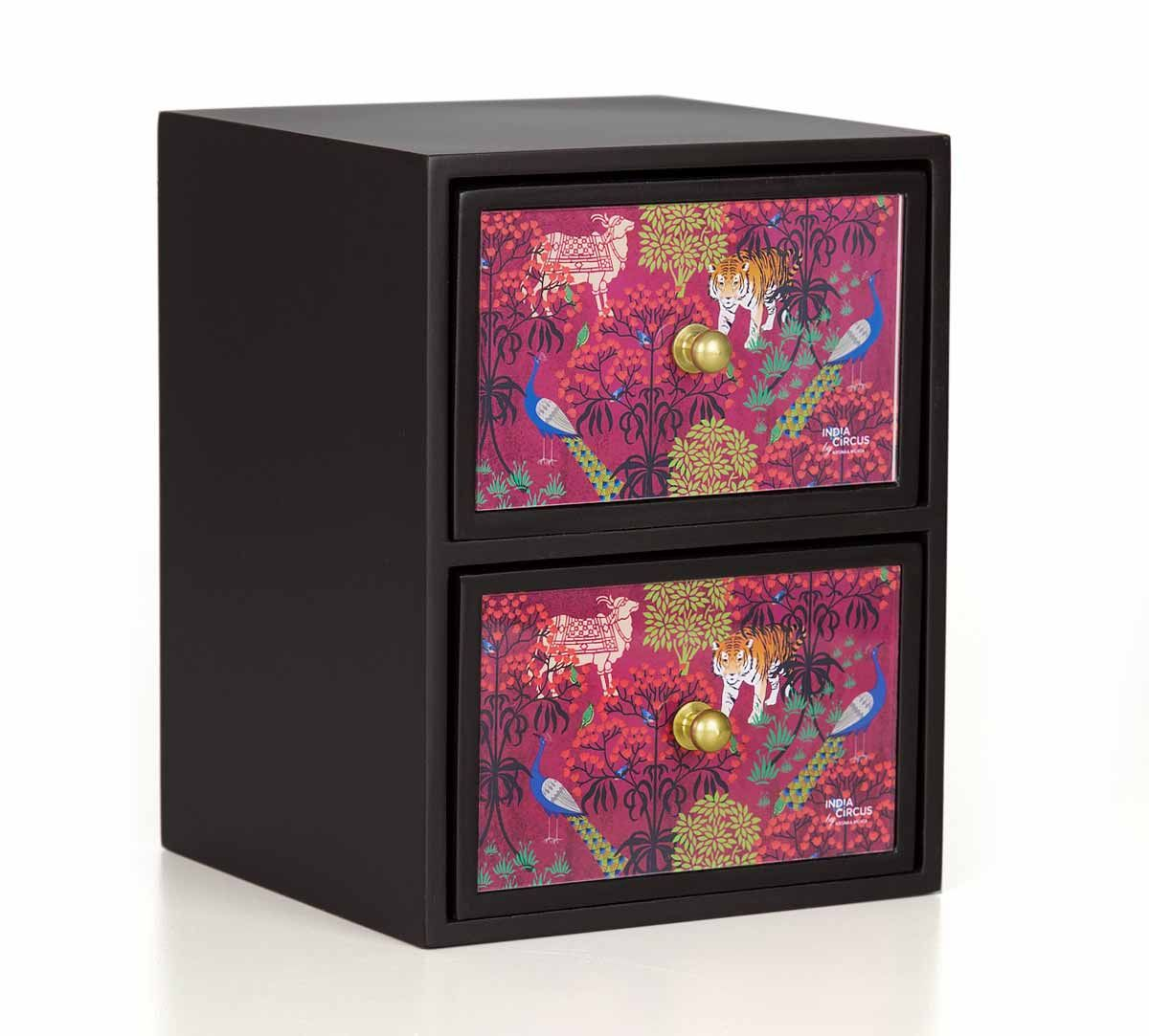 India Circus Latticed Synergy Jewellery Chest Drawers