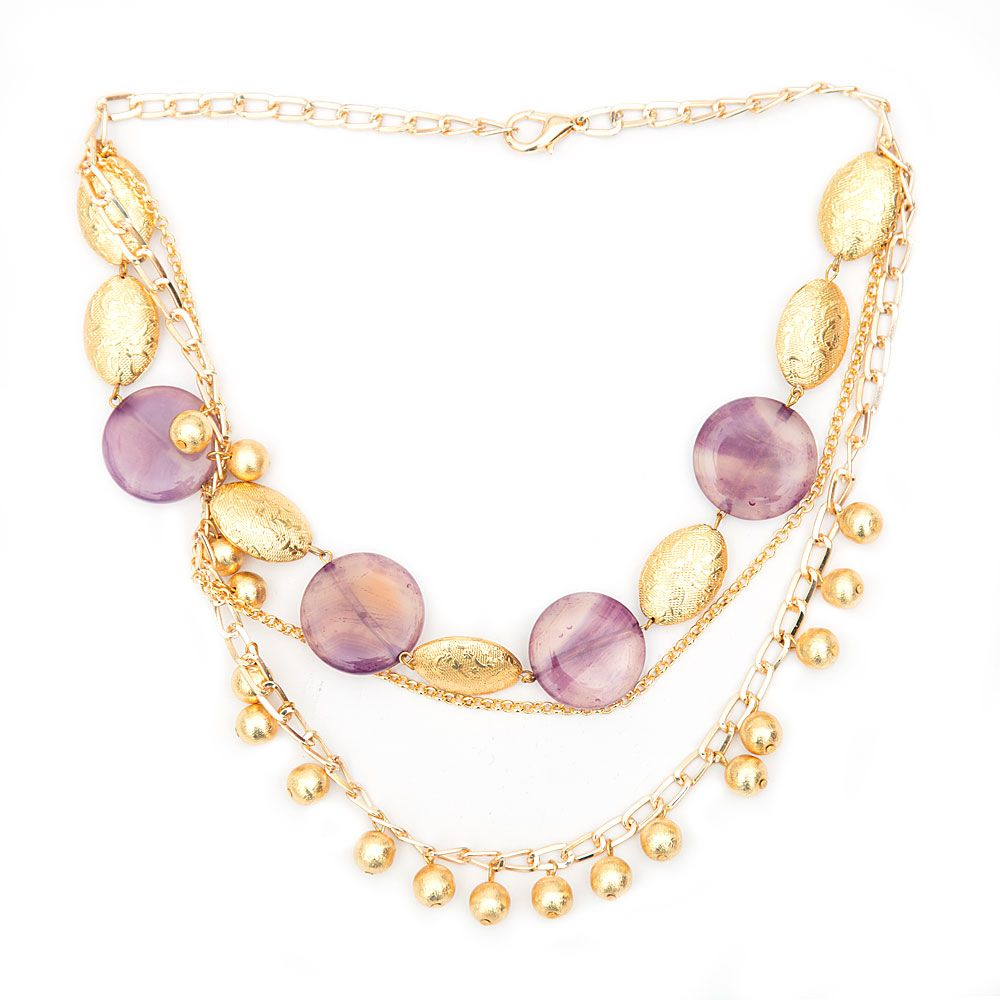 Lilac Allure Necklace