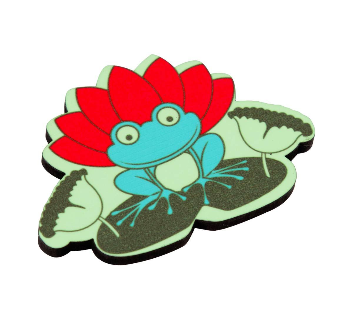 Lotus Toad MDF Fridge Magnet