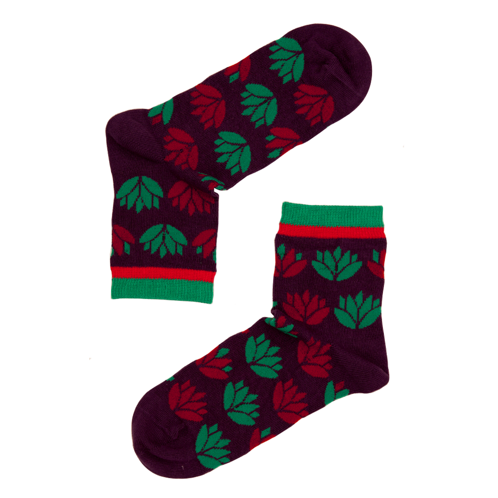Lotus Fun Socks
