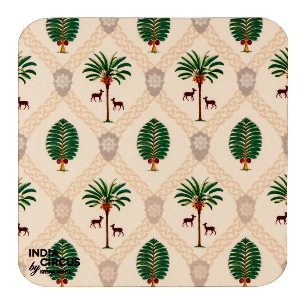 Magic Kingdom MDF Coasters - (Set Of 6)
