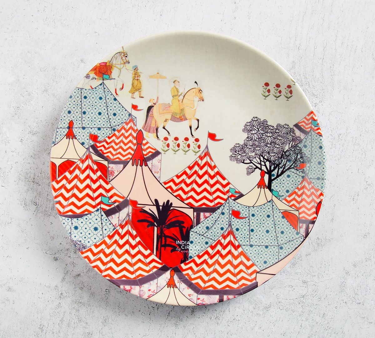Medieval Times 8 inch Decorative and Snacks Platter