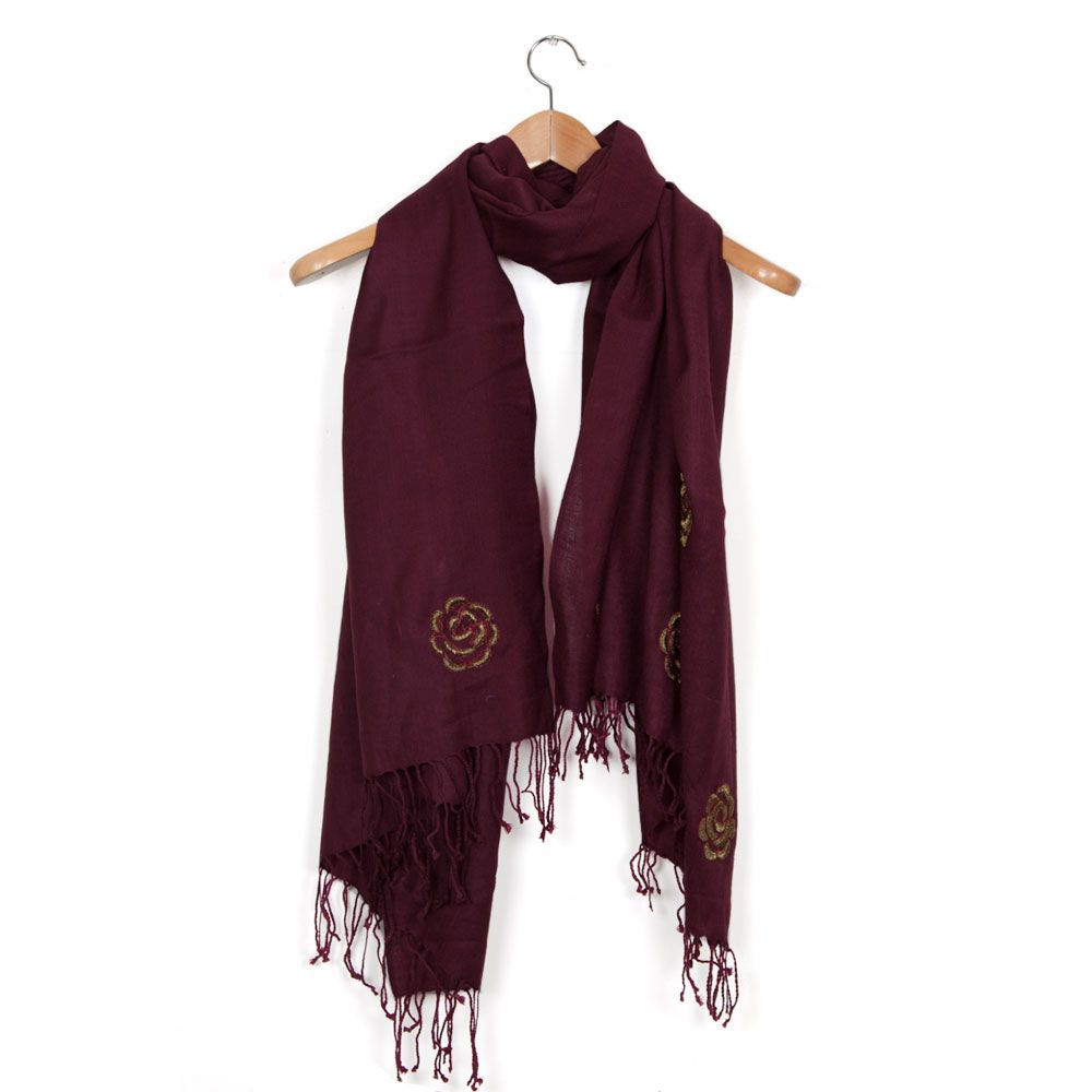 Muted Roses Stole