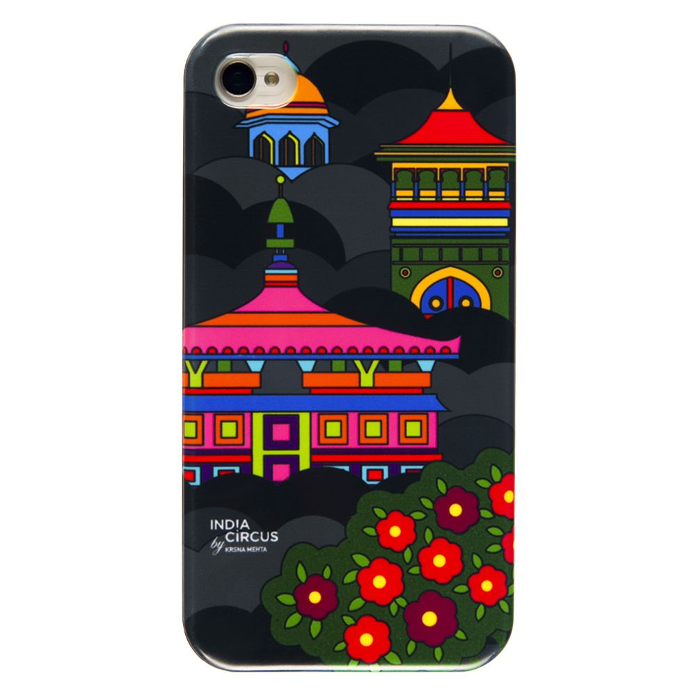 Namaste Black Sky-line iPhone 4/4s Cover