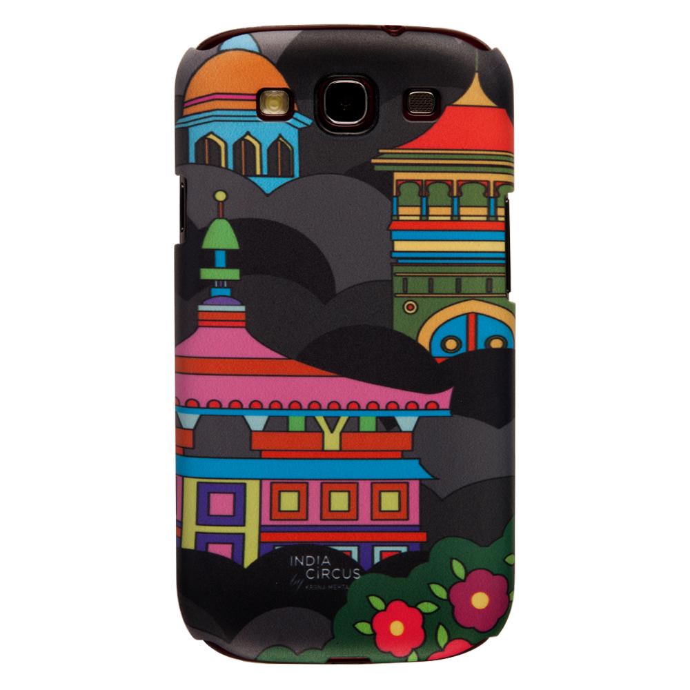 Namaste Black Sky-line Samsung Galaxy S3 Cover