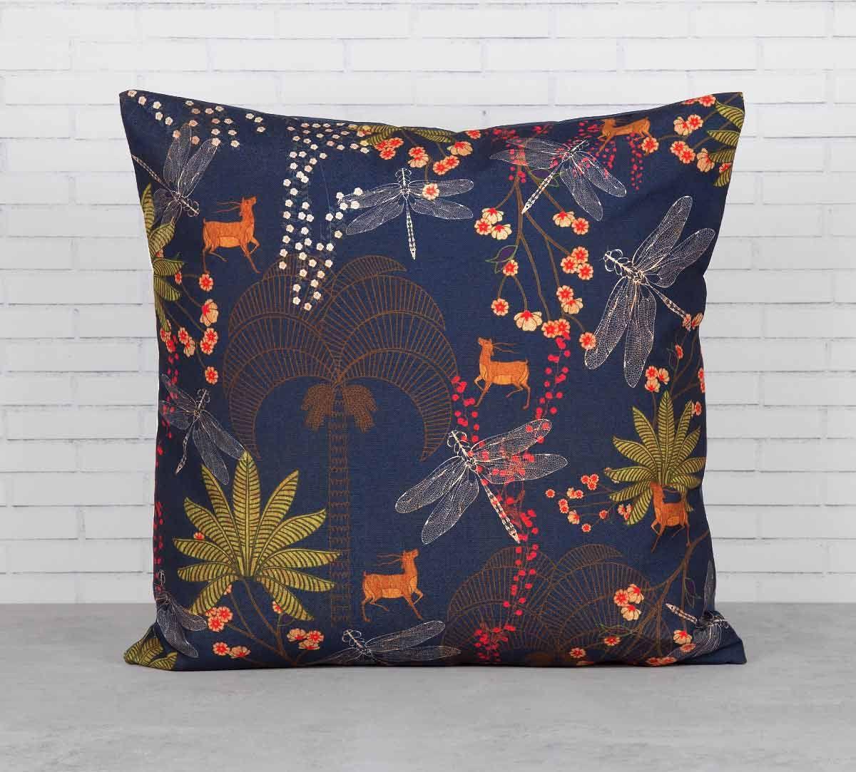 India Circus Palmeria Bloomer Cushion Cover