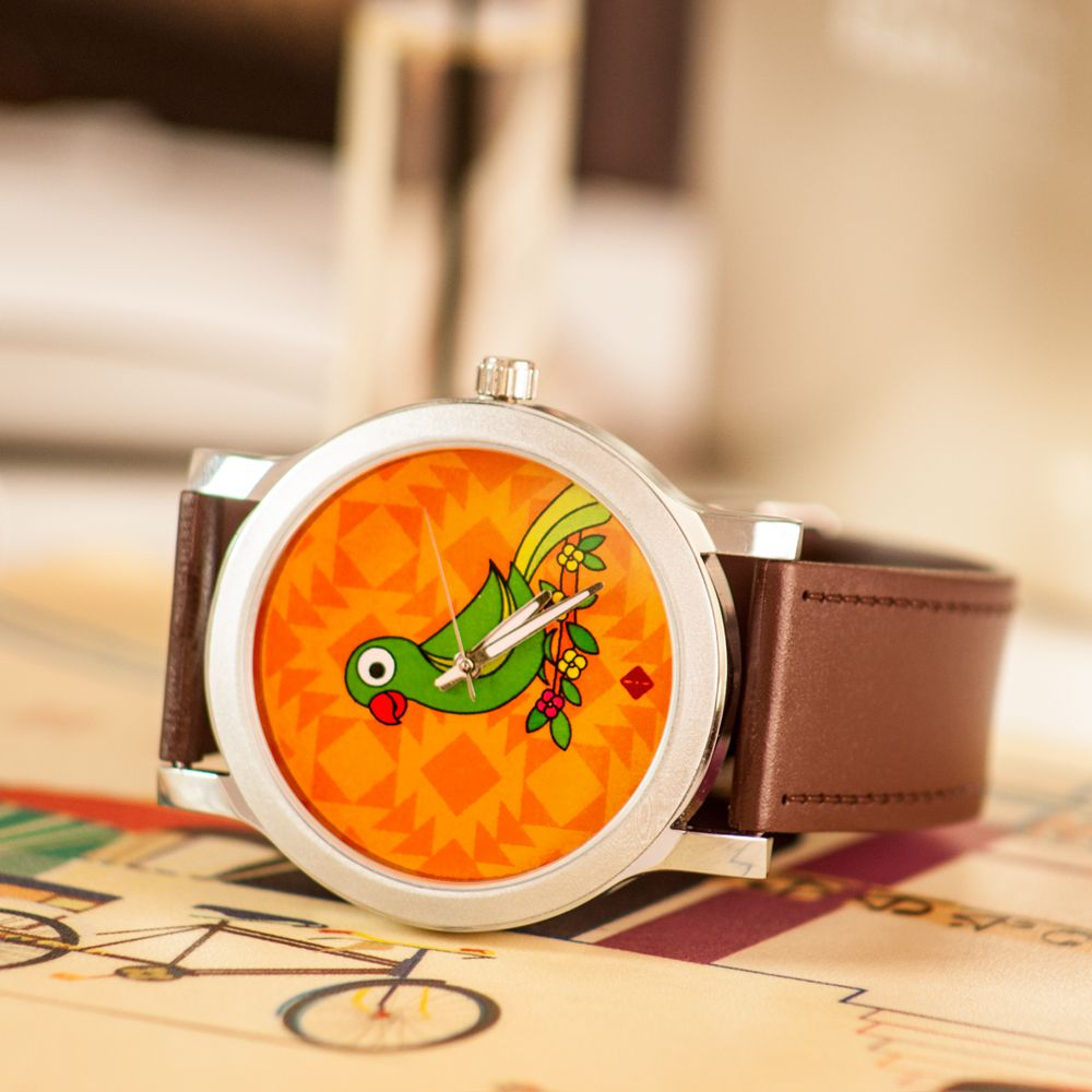 Parrot Talk Men's Watch