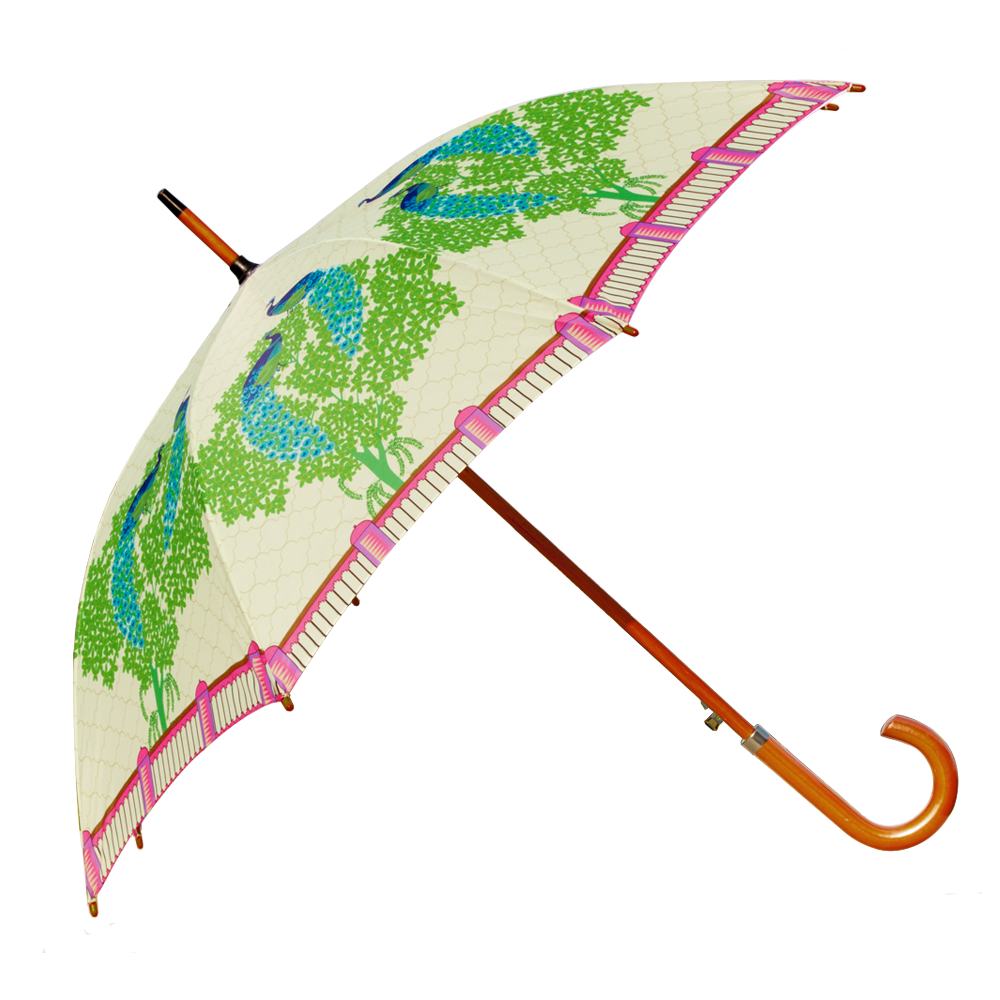 Peacock Dawn Umbrella