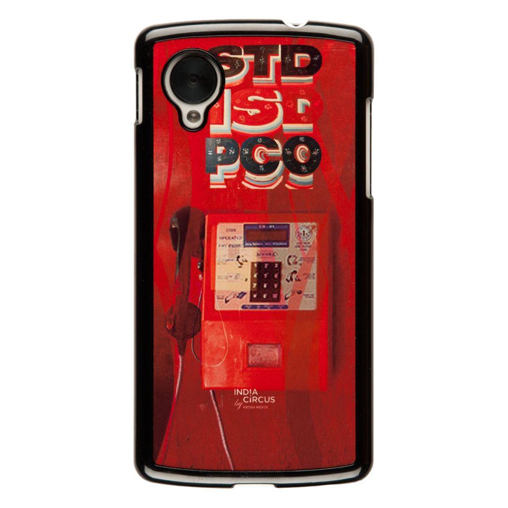 Phone Booth Vintage Google Nexus 5 Cover