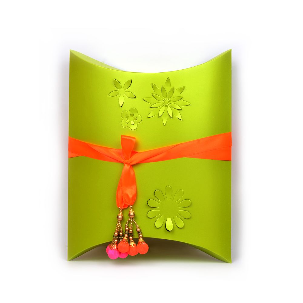 Pleasant Green Floral Gift Box - Single