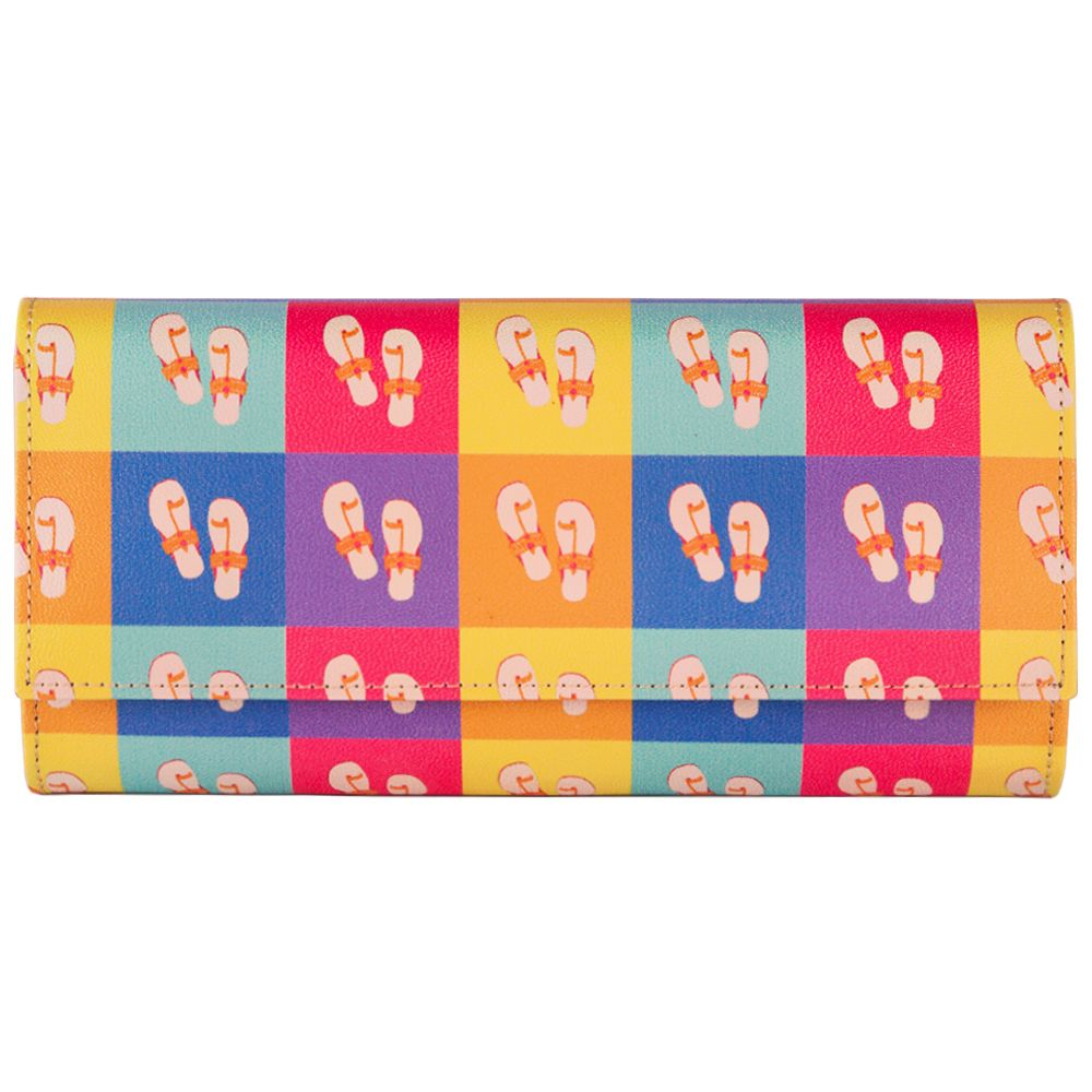 Pop-Slippers Ladies Wallet