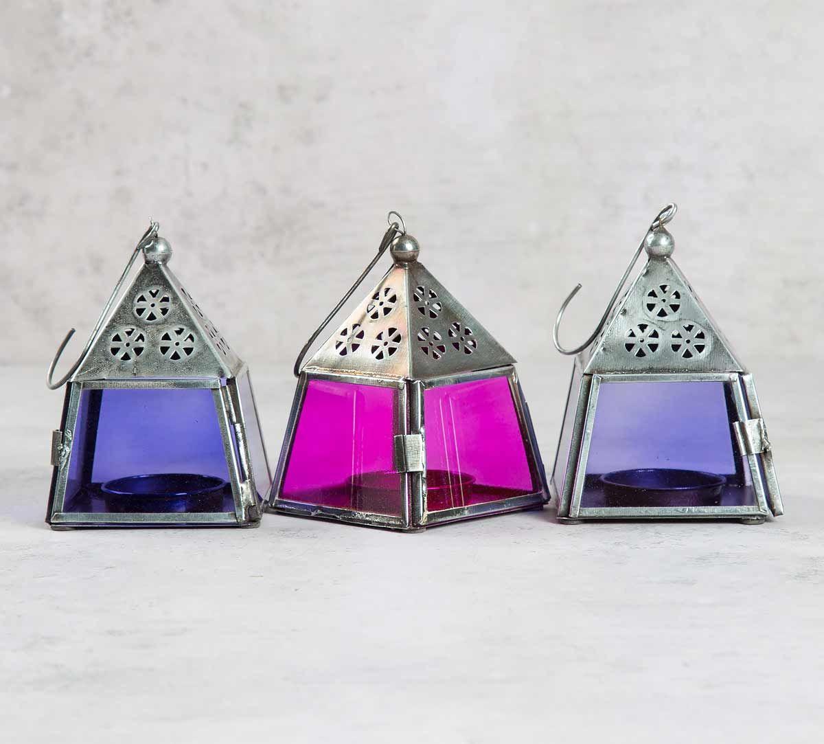 Pyramid Candle Lanterns