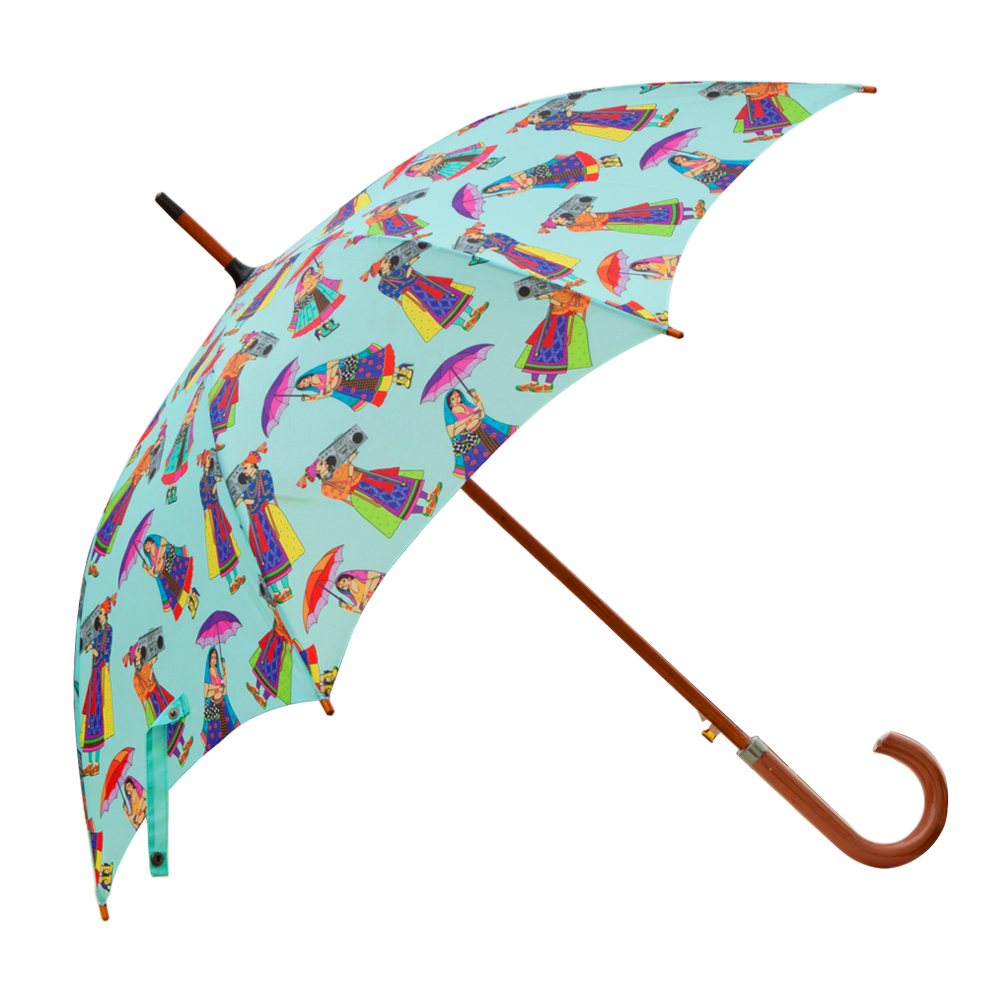 Retro Funk Umbrella