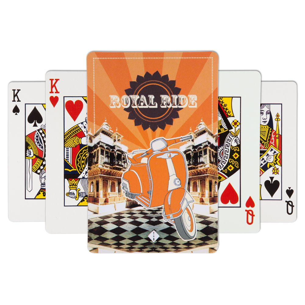 Jalebi Royal Ride Playing Card - (Set of 2)