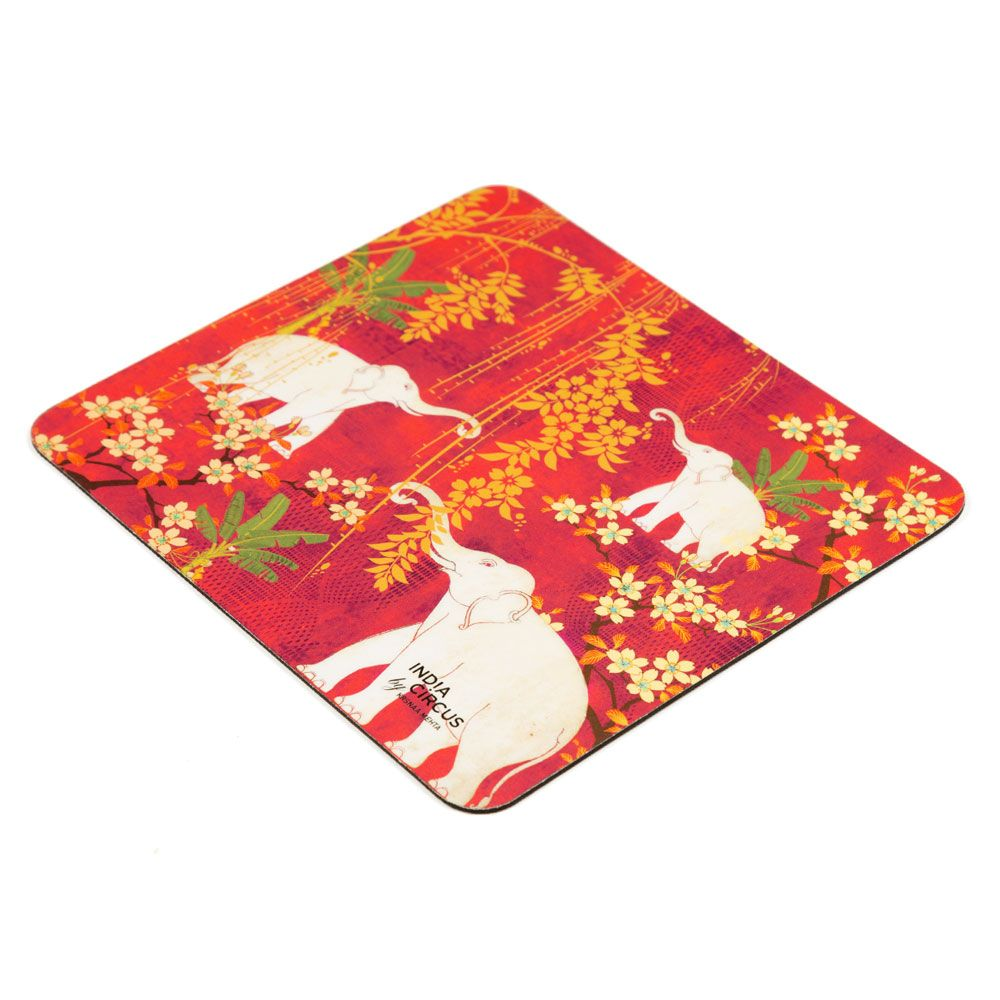 Scarlet Tusk Mouse Pad
