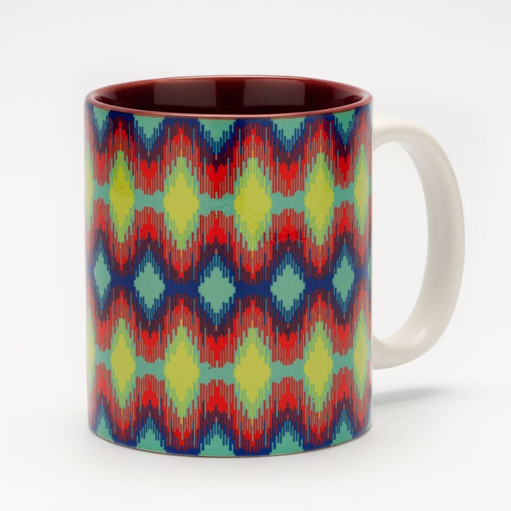 Spectrum Ikat Mug