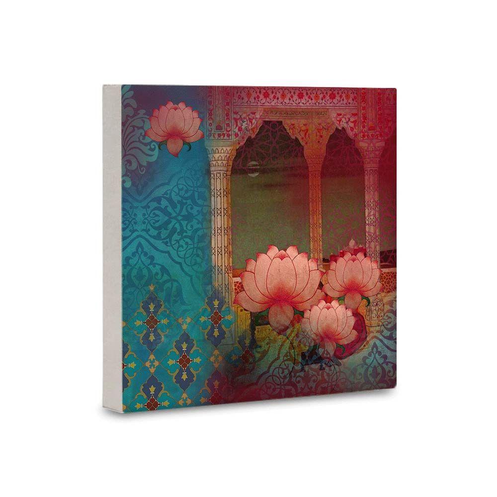 Lotus Dream Canvas Mounted Wall Art