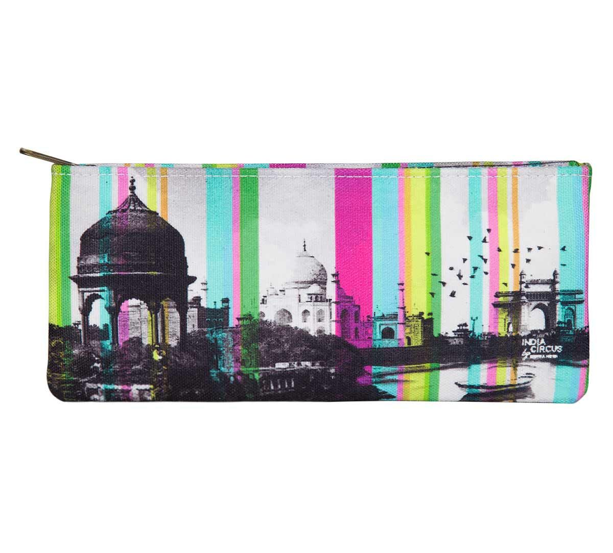 India Circus Strokes of India Small Makeup Pouch