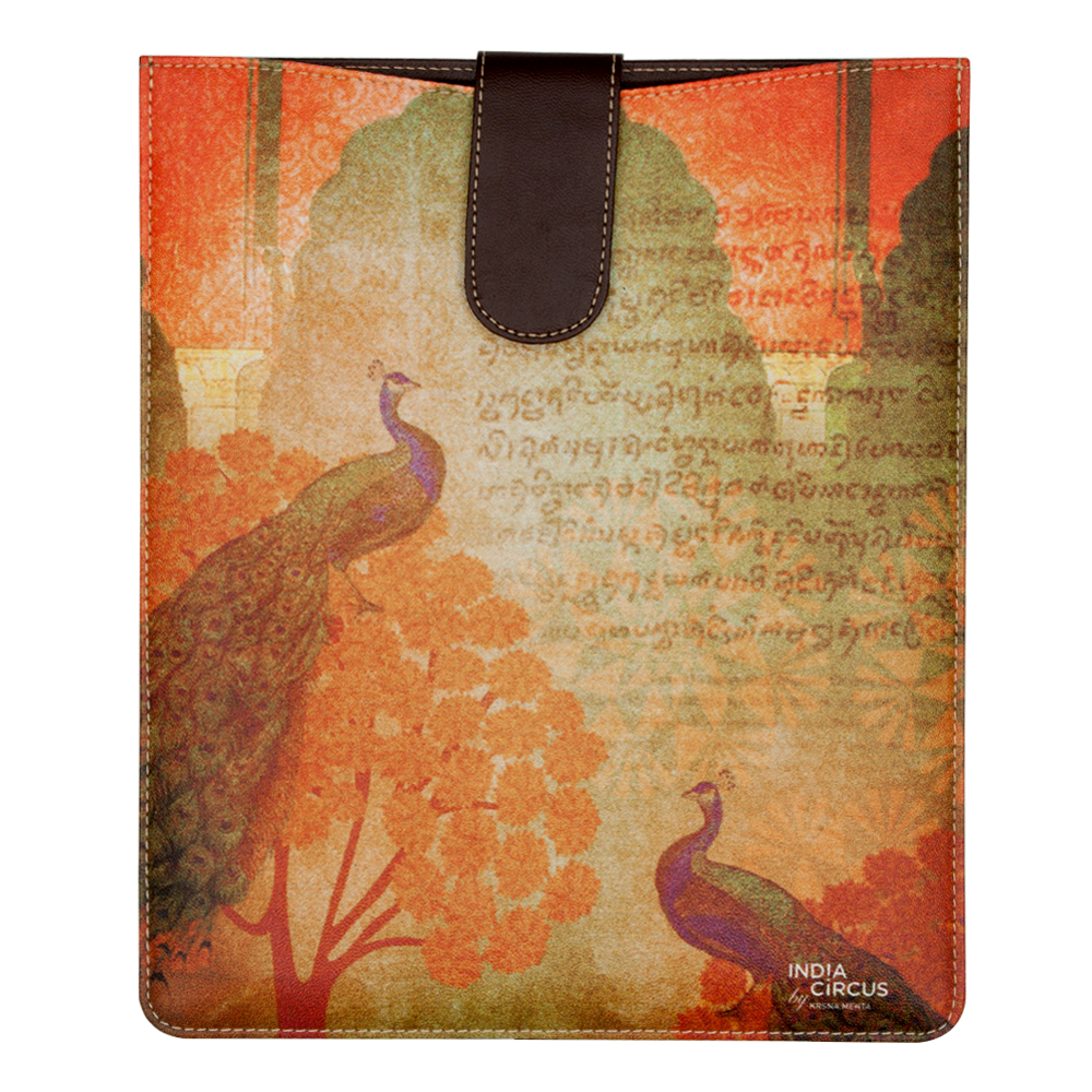 Sunset Peacocks iPad / Tablet sleeve