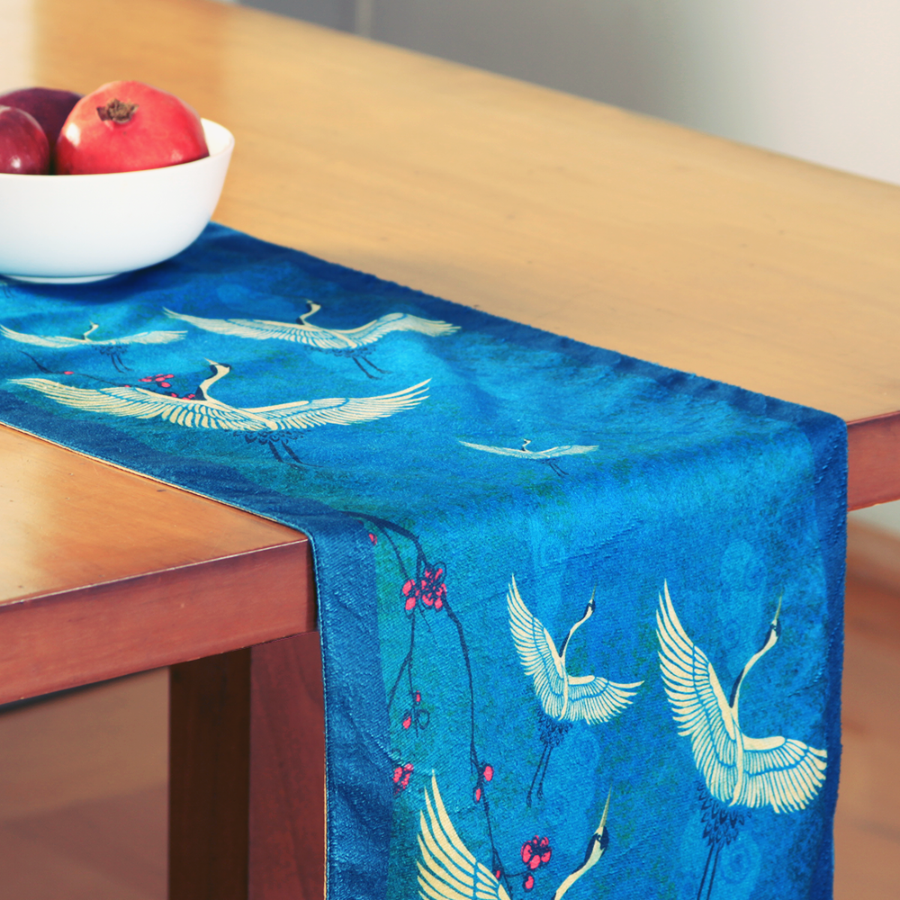 Legend of the Cranes Table Runner