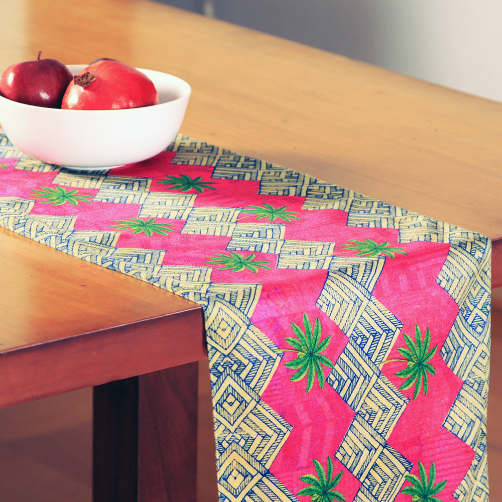 Zig-Zag Table Runner