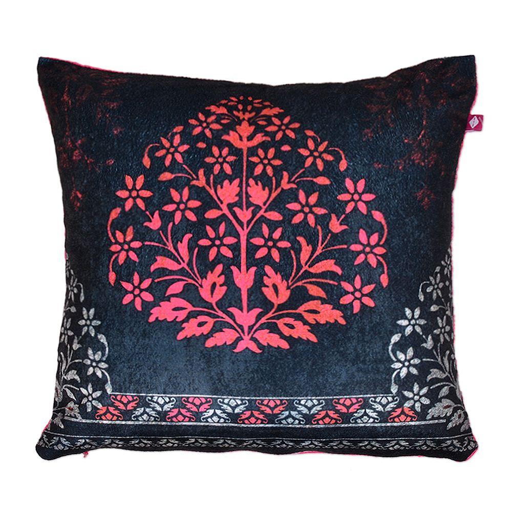 Tamara Bidri Floral Treat Velvet Cushion Cover