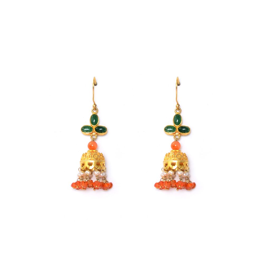 Tamara Droplets of Onyx Earrings