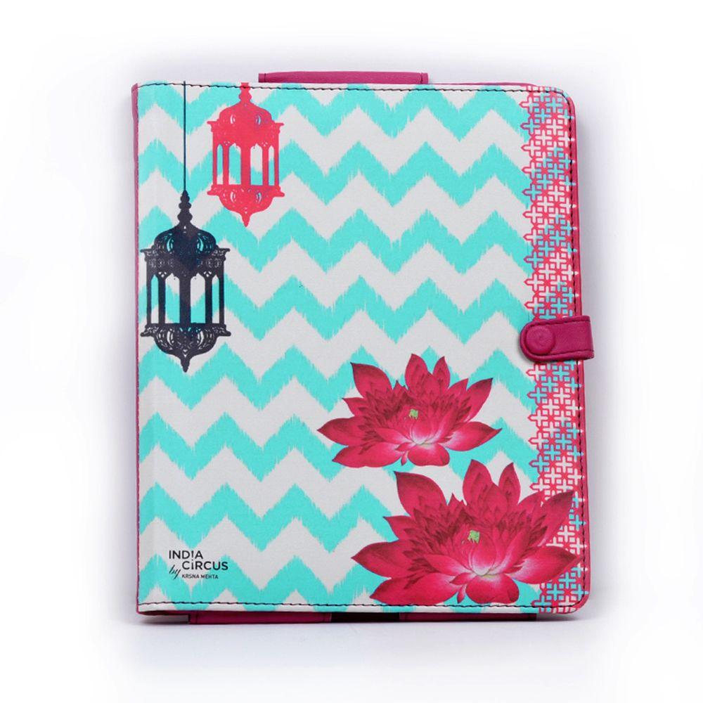 Tamara Lotus Lamps iPad Cover
