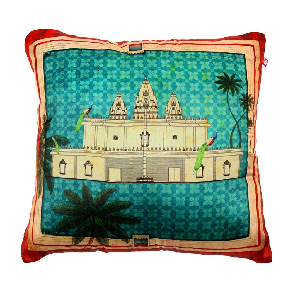 Pristine Abode Poly Silk Cushion Cover