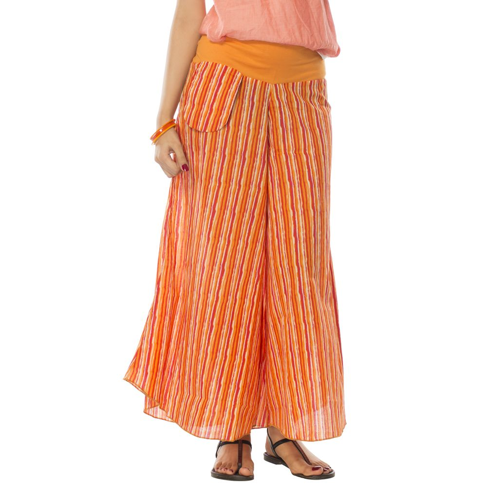 Tangerine Surprise Pants