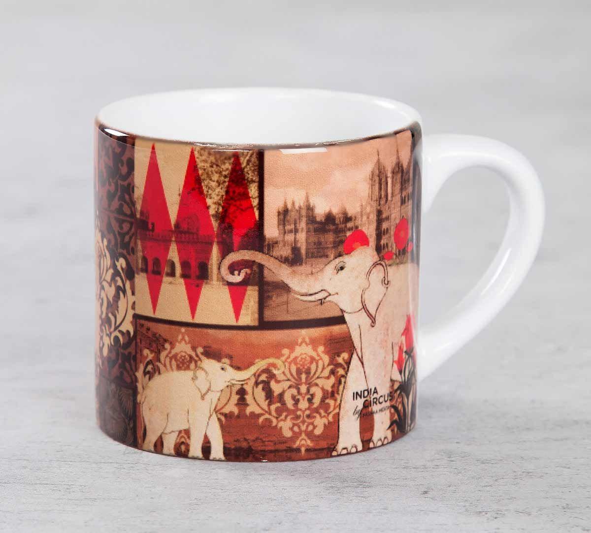 India Circus The Mughal Era Espresso Mug