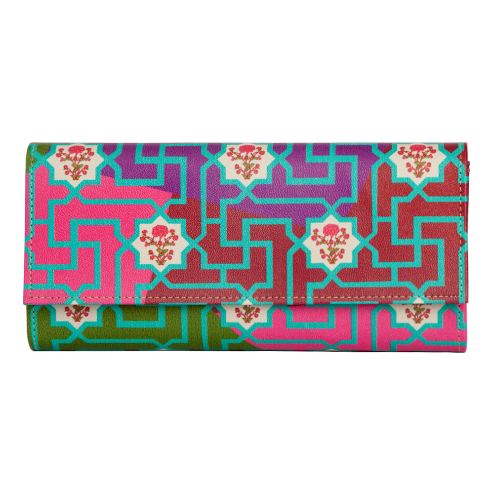 The Mysterious Flower Ladies Wallet