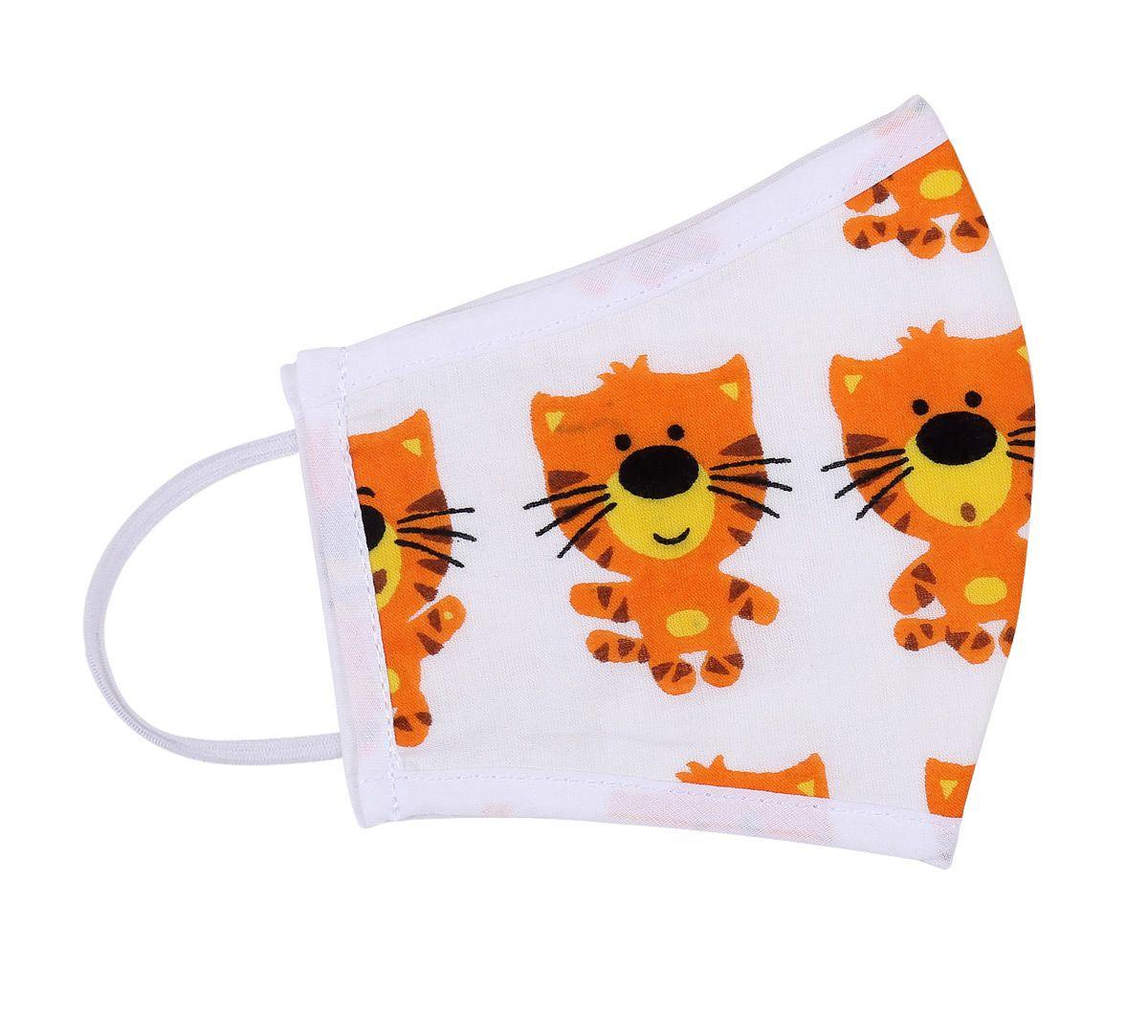 India Circus Tiger Print Kids Protective Face Mask