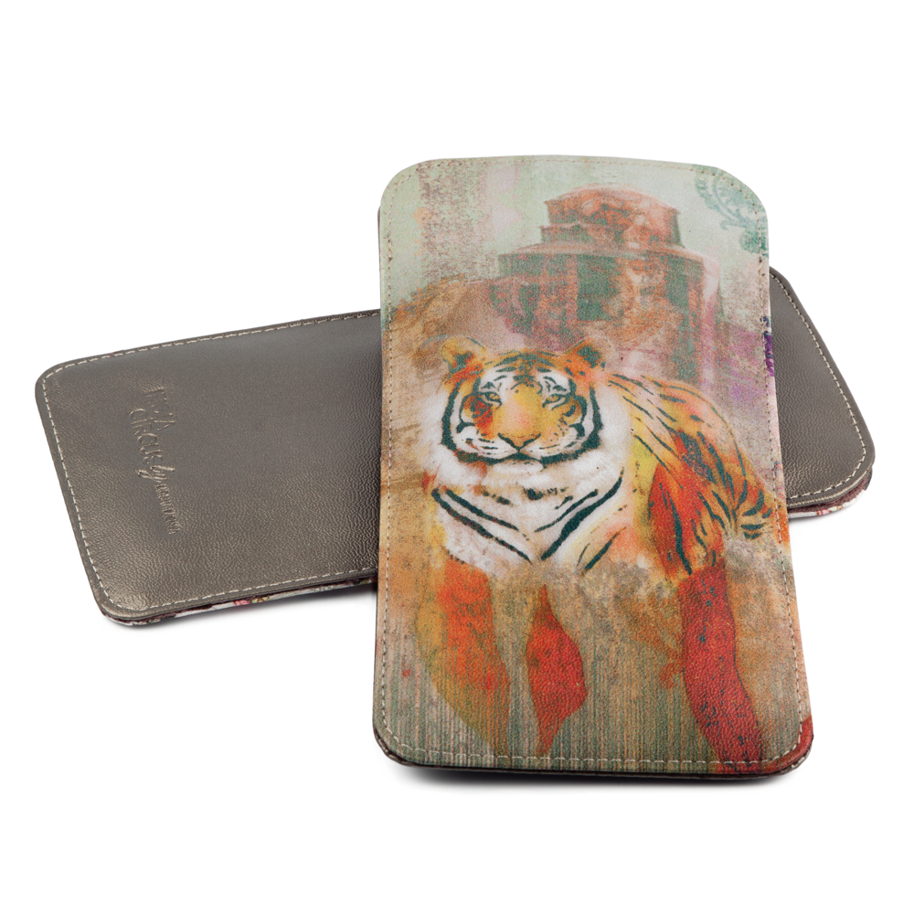 Tiger Shadows Spectacle Case