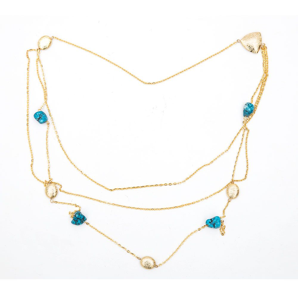 Turquoise Raindrops Necklace